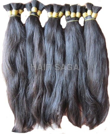 Virgin Remy Single Drawn Bulk Hair