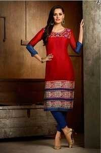Good Looking Multi-Color Georgette Kurti