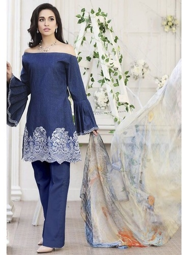 Fancy Cotton Pakistani Suit