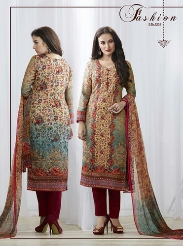 MUlti-Color Pashmina Salwar Suit