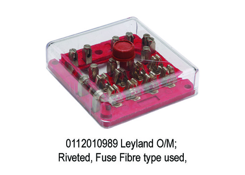 Leyland OM; Riveted, Fuse Fibre type used