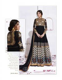 Mind-Blowing Party Wear Georgette Suit