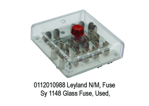 Leyland NM, Fuse Sy 1148 Glass Fuse, Used