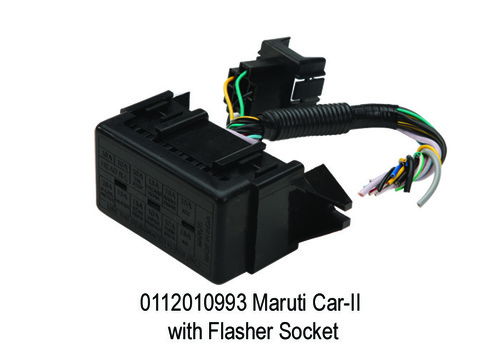Maruti Car-II with Flasher Socket