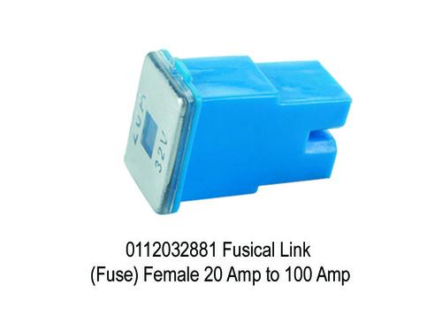 1506 SY 2881 Fusical Link (Fuse) Female 20 Amp