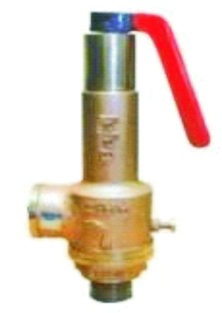 Spring Loaded Pop Type Safety Valve IBR