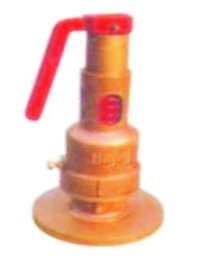 Spring Loaded Pop Type Safety Valve Flanged IBR