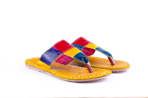 Colorful Handmade Flats