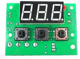 Temperature Controller Panel Board