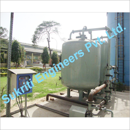 Dual Media Activated Carbon Filter