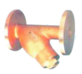 Y Type Strainer Flanged IBR