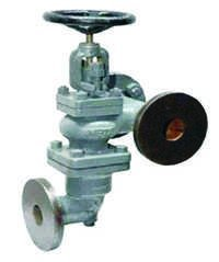 Cast Iron Accessible Feed Check Valve Curved