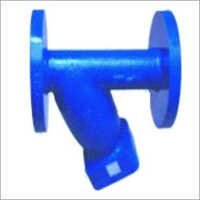 "Cast Steel ""Y"" Type Strainer IBR"