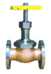 Burshane Gas Valve No.9 Flanged