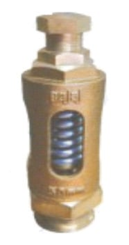 BAJAJ  Bronze Spring Relief Valve (Straight Type)