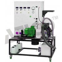 Test Stand for Single Cylinder Engines 7,5kW