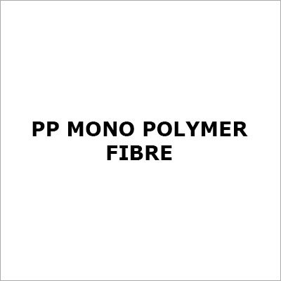 PP Mono Polymer Fibre