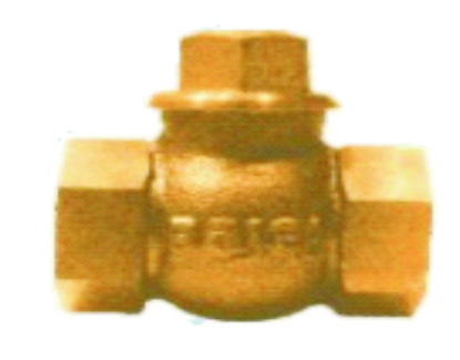 Horizontal Lift Check Valve No. 4