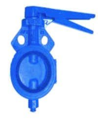 BAJAJ Cast Iron Wafer Type Butterfly Valve S.G. Disc