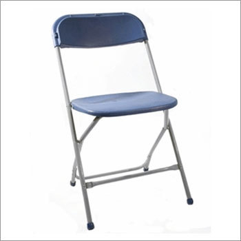Plastic Folding Chair With Metal Frame