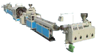 Braided PVC Tubing Extrusion Machine