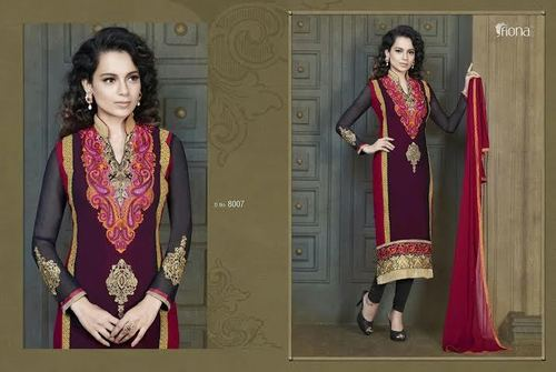 Different look Georgette Embriodered Sui