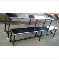 Stainless Steel Table Bench