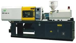 USED PLASTIC INJECTION MOULDING R 22010 & DISPOSABEL DONA PLATES MACHINE