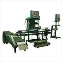Semi automatic cooked chapathi making machine