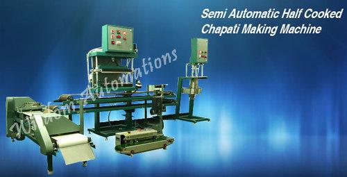 Semi Automatic Roti (Chapati) Making Machine