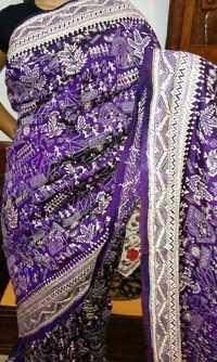 Kantha silk sarees