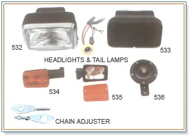 Headlights & Tail Lamps