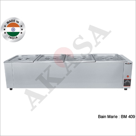 Akasa Indian 4 Container Bain Marie
