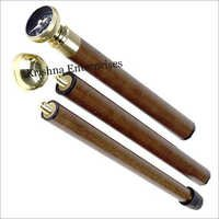 Brass Compass With Walking Stick