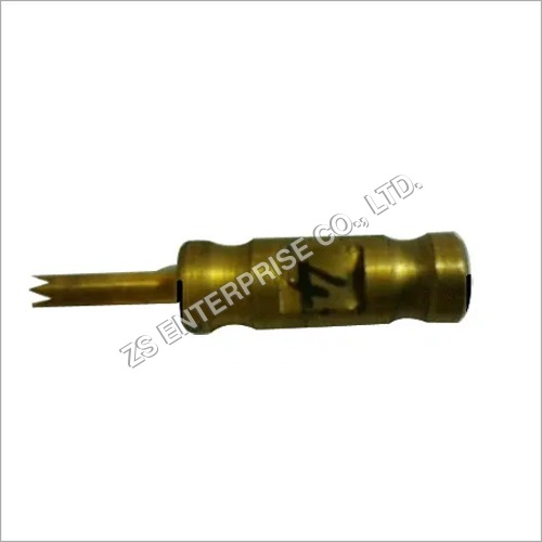 Plastic film Crown Punch/serrated puncher/serrated punch/teeth punch