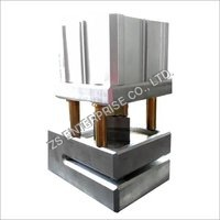 Angle Punching Machine/Triangular hole punch/V punch