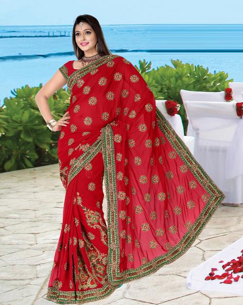 Womens Bridal Sarees