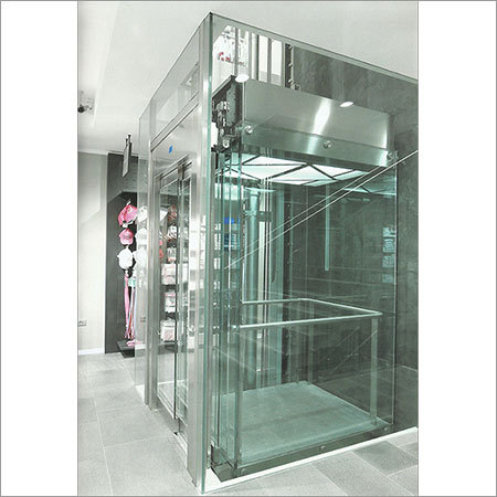 Customized Glass Hydraulic Elevator Customized Glass