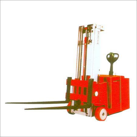 New Genx Gear Drive Battery Operated Counter Balanced Stacker