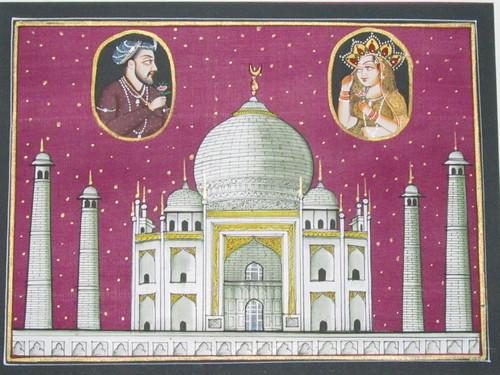 Taj Mahal & Shahjahan- Mumtaz