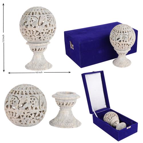 Stone Undercut Lamp