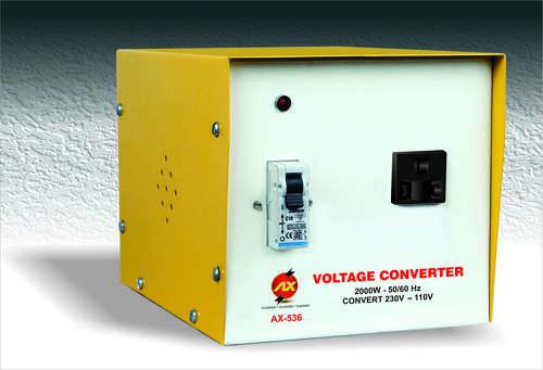 2000 WATTS STEP DOWN VOLTAGE CONVERTER  230 V - 110 V
