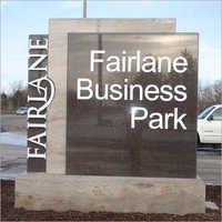 Outdoor Granite Signage