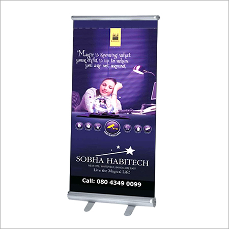 Roll Up Advertising Standee