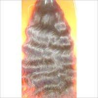 Machine Weft Natural Wavy Hair