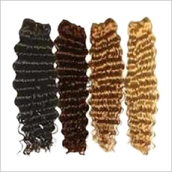 Machine Weft Spring Wavy Hair