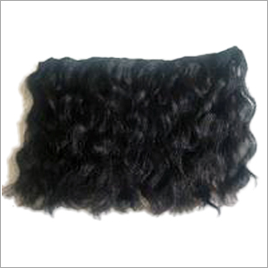 Machine Weft Curly Hairs