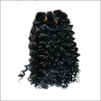 Machine Weft Indian Curly Hair