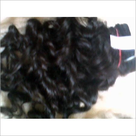 Machine Weft Brazalian Wavy Hair
