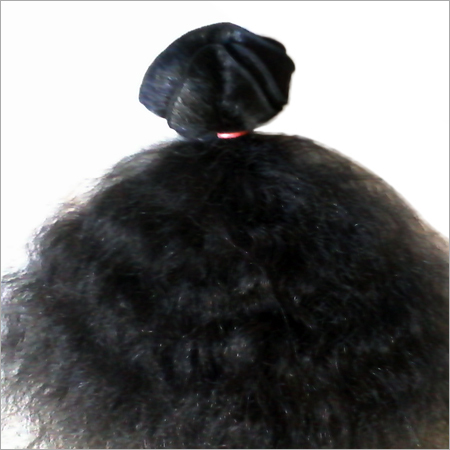 Machine Weft Step Curly Hair